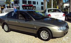 HOLDEN, COMMODORE, VY, 2003, RWD, green, 4D SEDAN,