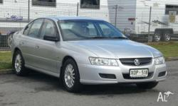 HOLDEN,COMMODORE,VZ,2005, RWD, SILVER, GREY trim, 4D