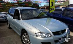 HOLDEN,COMMODORE,VZ,2005, RWD, silver blue, 4D WAGON,