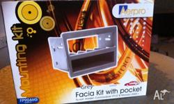 Facia Kit with pocket, to suit: Holden Commodore VY-VZ