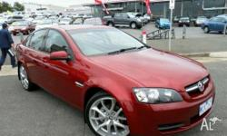 HOLDEN,Commodore,VE MY09,2008, Rear Wheel Drive, RED