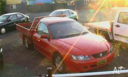 HOLDEN, COMMODORE, VYII, 2004, RWD, Red, C/CHAS,