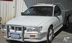 HOLDEN,COMMODORE,VYII,2004, RWD, White, C/CHAS, 3791cc,