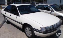 HOLDEN,COMMODORE,VN,1990, RWD, WHITE, 4D SEDAN, 3791cc,