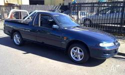 HOLDEN, COMMODORE, VSII, 1996, RWD, GREEN, UTILITY,