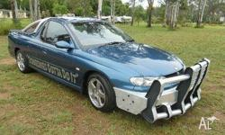 HOLDEN,COMMODORE,VUII,2002, RWD, BLUE, UTILITY, 3791cc,