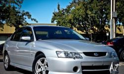 HOLDEN,Commodore,VY,2002, Rear Wheel Drive, Silver, 4dr