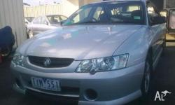HOLDEN,COMMODORE,VY,2003, RWD, SILVER, GREY / BLACK