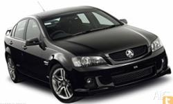 HOLDEN,COMMODORE,2010, Rear Wheel Drive, VOODOO,