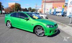 HOLDEN,Commodore,VE MY09,2008, Rear Wheel Drive, GREEN,