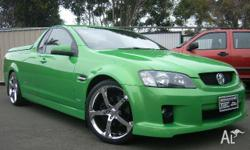 HOLDEN, COMMODORE, VE, 2007, RWD, Green, UTILITY,