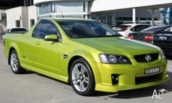 HOLDEN, COMMODORE, VE, 2007, RWD, CRUNCH, UTILITY,