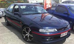 HOLDEN,COMMODORE,VR,1994, RWD, bermuda blue, 4D SEDAN,