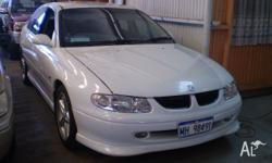 HOLDEN, COMMODORE, VT, 1998, RWD, white, 4D SEDAN,