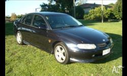 HOLDEN,COMMODORE,VT,1998, RWD, BLUE, BLUE trim, 4D