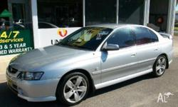 HOLDEN,COMMODORE,VY,2002, RWD, SILVER, BLUE trim, 4D