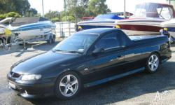 2002 De Badged VU Series 11 SS UTE with Gen 111 Stage 1