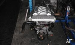 HOLDEN COMMODORE V8 VR V8 ENGINE FULLY SERVICED NEW