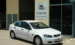 Holden,Commodore,VE Omega,2007 White, 4dr Sedan 3.6ltr