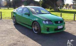 2008 VE SS COMMODORE SEDAN ATOMIC GREEN 6 SPEED MANUAL