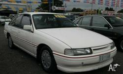 HOLDEN,COMMODORE,VN,1991, RWD, White, 4D SEDAN,