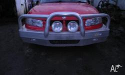 HOLDEN COMMODORE VT-VX-VY-VZ FRONT BUMPER BULLBAR, WITH