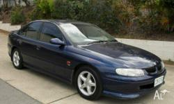 HOLDEN,COMMODORE,VT S,1999, Blue, Grey trim, SEDAN,