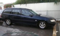 2000 HOLDEN COMMODORE VX 4DR WAGON, V6, AIRCONDITIONED,