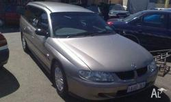 Holden,Commodore,VX EXECUTIVE,2001 Rear Wheel Drive