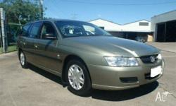 HOLDEN,Commodore,VZ,2004, Gold, 5dr Wagon, 3.6, 6cyl,