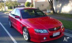 HOLDEN, COMMODORE SS VZ 2004 Red Hot, 4D SEDAN, 5665cc,