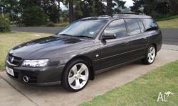 2007 Holden Commodore SVZ Wagon Leater seats, great