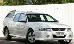 HOLDEN,CREWMAN,VZ MY06,2006, RWD, White, GREY trim,