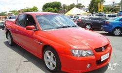 HOLDEN, Crewman, VZ, 2005, Rear Wheel Drive, RED, 4dr