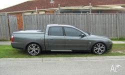 2004 Holden Crewman, All Wheel Drive, Lowered all