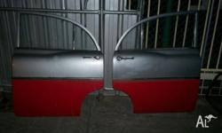 Holden ek rear doors in good condition straight no rust