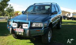 HOLDEN FRONTERA 4X4 2002 AUTO .VERY LOW KM'S EXCELLENT