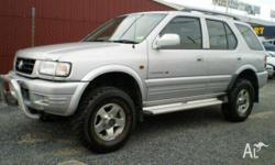 HOLDEN,Frontera,MX,1999, 4X4, Silver, 5dr Wagon,