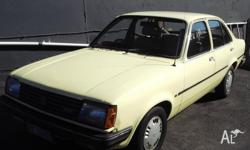one owner gemeni sedan 1.6 ltr 4 speed tidy condition
