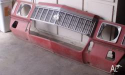 HOLDEN HJ HX HZ single headlight nose cone only suits