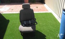Toyota bucket seats. Have been modified to fit a HR