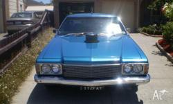HQ Holden ute with HZ premier frontend, 308, Turbo 400,