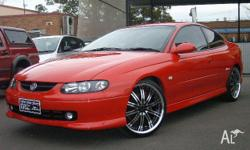 HOLDEN, MONARO, SERIES III, 2004, RWD, Red, 2D COUPE,