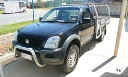 Holden Rodeo 4x4 Ute black 2 door manual 173495 km's