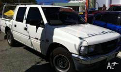 HOLDEN,RODEO,TF,1993, white, UTILITY, 2.6L, 4cyl,