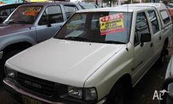 HOLDEN,RODEO,TFG1,1995, RWD, WHITE, CREW CAB P/UP,