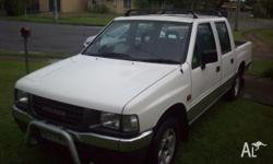 1994 HOLDEN RODEO DUAL CAB AUTOMATIC IN VERY GOOD