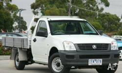 HOLDEN,RODEO,RA,2004, RWD, White, C/CHAS, 2405cc, 94kW,