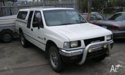 HOLDEN,RODEO,TFG1,1993, 4WD, WHITE, SPACE CAB P/UP,