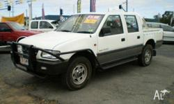 HOLDEN,RODEO,TFR9,1999, 4WD, White, CREW CAB P/UP,